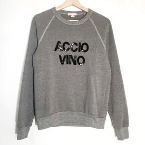 Bow & Drape Accio Vino French Terry Sweatshirt